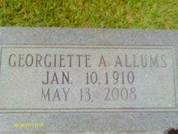 Georgiette Pud <i>Anderson</i> Allums