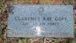 Clarence Raymond Ray Goff