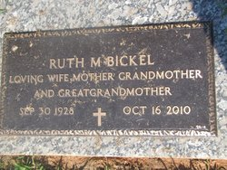 Ruth Madoline <i>Taylor</i> Bickel