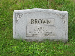 Mary E <i>Rouse</i> Brown