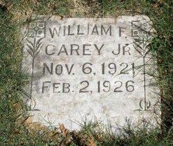 William F Carey, Jr