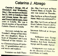 Catarina <i>Jaimes</i> Abrego