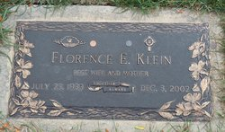 Florence Flo <i>Kroening</i> Klein