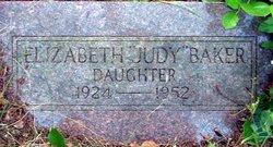 Elizabeth Ellen Judy Baker