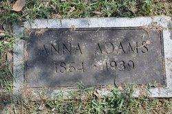 Sarah Anna Elizabeth Anna <i>Robertson</i> Adams