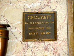 Mary E <i>Scruggs</i> Crockett
