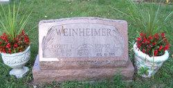 Bernice A <i>Wollenberg</i> Weinheimer