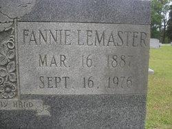 Fannie <i>LeMaster</i> Brown