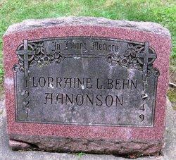 Lorraine L <i>Behn</i> Aanonson