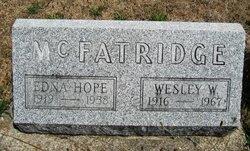 Edna Hope <i>Downey</i> McFatridge