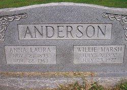 Anna Laura <i>Dowell</i> Anderson
