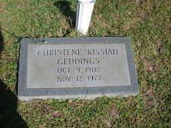 Christene <i>Kissiah</i> Geddings