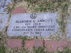 Pvt Seaborn G. Abbott
