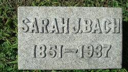 Sarah Jane <i>Humphreys</i> Bach