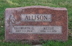 Elizabeth Jane Bessie <i>Brown</i> Allison