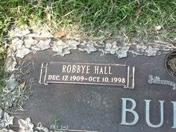 Robbye Lucille <i>Hall</i> Burns