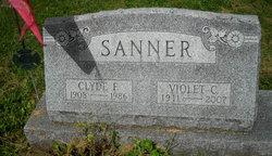 Violet Catherine <i>Baker</i> Sanner