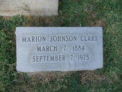 Marion <i>Johnson</i> Clark