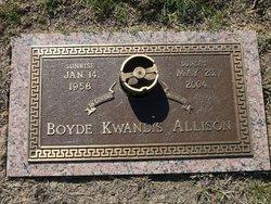 Boyde Kwandis Allison