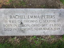 Rachel Emma <i>Peters</i> Sexton