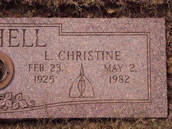 Lila Christine Bushell