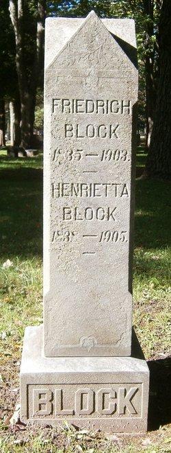 Henrietta Yetta <i>Schumann</i> Block