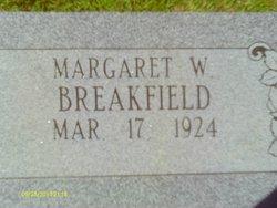 Margaret <i>Williamson</i> Breakfield