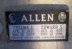 Thelma Lorine <i>McCarty</i> Allen