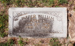 Jasper William Asher