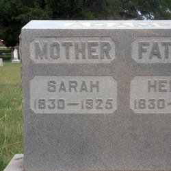 Sarah <i>Williams</i> Adams