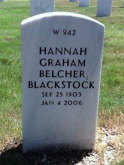 H. Graham Belcher Blackstock