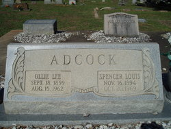 Ollie Lee <i>Scott</i> Adcock