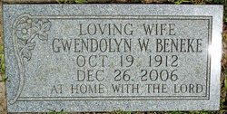 Gwendolyn <i>Williams</i> Beneke
