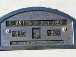 Clarisa <i>Gurganious</i> Baysden