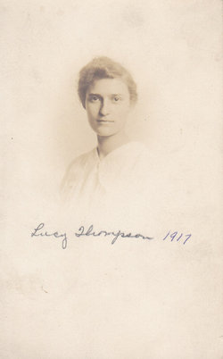 Lucy Farrell <i>Thompson</i> DeBruler