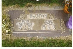 Grace Elmira <i>Hatch</i> Thaxton