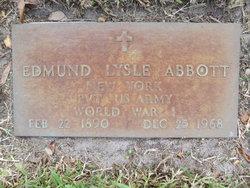 Pvt Edmund Lysle Abbott