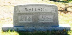 Rosa E <i>Robertson</i> Wallace