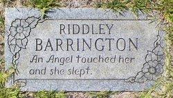 Riddley Ann <i>Evans</i> Barrington