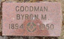 Byron M Goodman