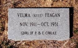 Velma <i>Kyle</i> Feagan