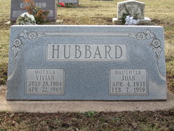 Vivian Ella <i>Brabazon</i> Hubbard