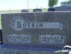 Elizabeth M Botkin