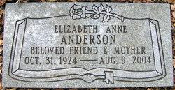 Elizabeth Anne <i>Haight</i> Anderson