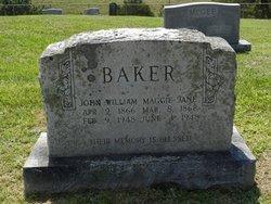 Maggie Jane <i>Carr</i> Baker