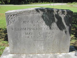 Annie Adelaide <i>Hodges</i> Corpening