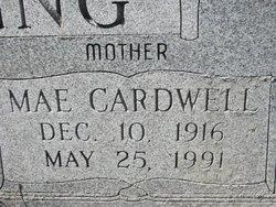 Druscilla Mae <i>Cardwell</i> Corpening