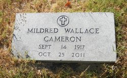 Mildred M. <i>Wallace</i> Cameron