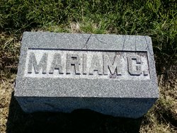 Mariam C. <i>Hartmann</i> Allmon