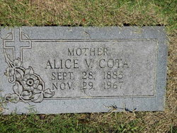 Alice Veronica <i>Hogan</i> Cota